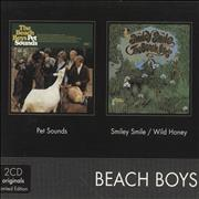 Click here for more info about 'The Beach Boys - 2CD Originals Pet Sounds / Smiley Smile / Wild Honey'