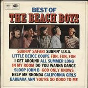 Click here for more info about 'The Beach Boys - Best Of The Beach Boys - EX'