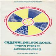 Click here for more info about 'The Beach Boys - Crystal Palace Bowl Garden Party III + Ticket Stub'