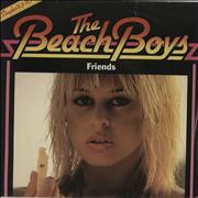 Click here for more info about 'The Beach Boys - Friends + Sleeve'