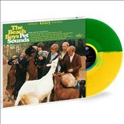 Click here for more info about 'The Beach Boys - Pet Sounds - 180gm Green & Yellow Split Coloured Vinyl'