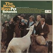 Click here for more info about 'The Beach Boys - Pet Sounds - 1st - G'