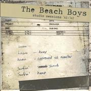 Click here for more info about 'The Beach Boys - Studio Sessions '61-'62'