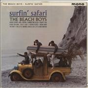 Click here for more info about 'The Beach Boys - Surfin' Safari - P 1962 label'