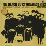 Click here for more info about 'The Beach Boys - The Beach Boys' Greatest Hits (1961-1963)'