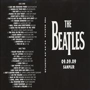Click here for more info about 'The Beatles - 09.09.09 Sampler - Sealed'