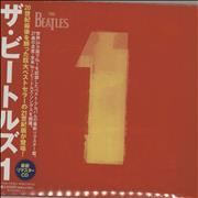 The Beatles 1 - One Japan CD album Promo