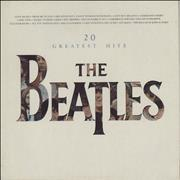 The Beatles 20 Greatest Hits - EX UK vinyl LP
