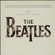 The Beatles 20 Greatest Hits UK vinyl LP