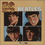 The Beatles 20 Hits UK vinyl LP