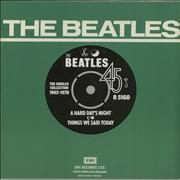 "The Beatles A Hard Day's Night - 1976 Issue UK 7"" vinyl"