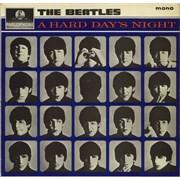 The Beatles A Hard Day's Night - 1st - G&L - VG UK vinyl LP