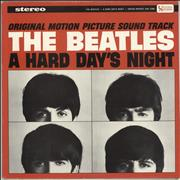 The Beatles A Hard Day's Night - 1st - I Cry Instead label & Slv USA vinyl LP