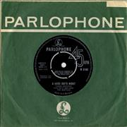 "The Beatles A Hard Day's Night - 1st - VG UK 7"" vinyl"