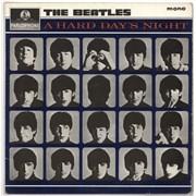 The Beatles A Hard Day's Night - 1st - WOC UK vinyl LP