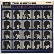 The Beatles A Hard Day's Night - 2nd - G UK vinyl LP
