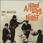 The Beatles A Hard Day's Night - 3rd Odeon issue - Red Vinyl Japan vinyl LP