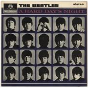 The Beatles A Hard Day's Night - EMI - Sample UK vinyl LP