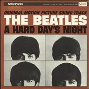 Click here for more info about 'The Beatles - A Hard Day's Night - tan label'