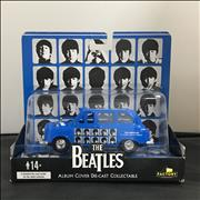 The Beatles A Hard Days Night Die-Cast London Taxi UK memorabilia