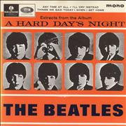 "The Beatles A Hard Day's Night EP No. 2 - All Rights UK 7"" vinyl"