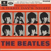 "The Beatles A Hard Day's Night No. 2 EP - 1st UK 7"" vinyl"