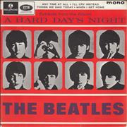 """The Beatles A Hard Day's Night No. 2 EP - 1st - VG UK 7"""" vinyl"""