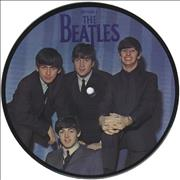 "The Beatles A Hard Days Night UK 7"" picture disc"
