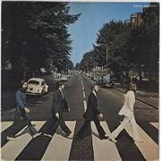 The Beatles Abbey Road + Insert - EX Japan vinyl LP