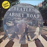 The Beatles Abbey Road - EX Netherlands picture disc LP