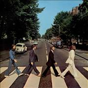 The Beatles Abbey Road - Lam - EX UK vinyl LP