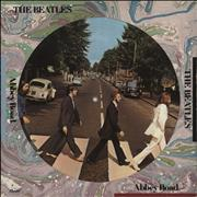 The Beatles Abbey Road - VG USA picture disc LP