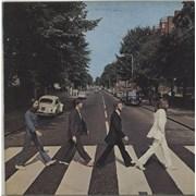 The Beatles Abbey Road Italy vinyl LP