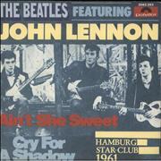 "The Beatles Ain't She Sweet + Sleeve - EX Yugoslavia 7"" vinyl"