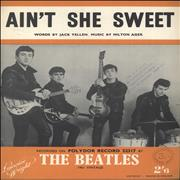 The Beatles Ain't She Sweet UK sheet music Promo