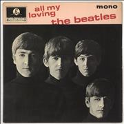 Click here for more info about 'The Beatles - All My Loving - 4pr - EMI Txt'