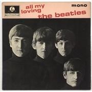 "The Beatles All My Loving - 4pr - EMI UK 7"" vinyl"