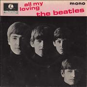 "The Beatles All My Loving EP - 2nd UK 7"" vinyl"