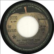 """The Beatles All Together Now Italy 7"""" vinyl"""