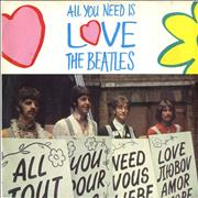 "The Beatles All You Need Is Love - 20th Anniversary UK 7"" vinyl"