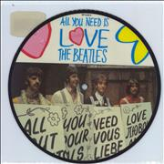 Click here for more info about 'The Beatles - All You Need Is Love - Barcode Stickered'