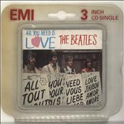 """The Beatles All You Need Is Love - EX UK 3"""" CD single"""