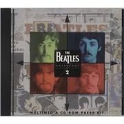 The Beatles Anthology 2 - Multimedia CD-ROM Press Kit UK CD-ROM Promo