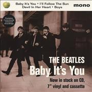 Click here for more info about 'The Beatles - Baby It's You - Display Card'