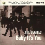 """The Beatles Baby It's You - EX UK 7"""" vinyl"""