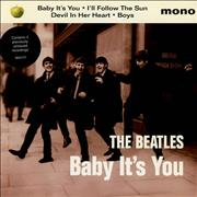 "The Beatles Baby It's You UK 7"" vinyl"