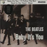 The Beatles Baby It's You UK CD single