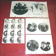Click here for more info about 'The Beatles - Baktabak Proof Artwork x 7'
