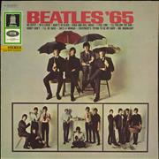 Click here for more info about 'The Beatles - Beatles '65 - Blue Label - EX'