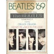 The Beatles Beatles '69 UK book